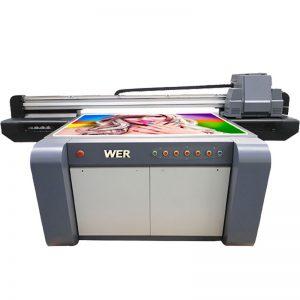 3D efekt UV plochá tlačiareň, keramická tlačiareň, tlačiareň na tlačiarne v Číne WER-EF1310UV