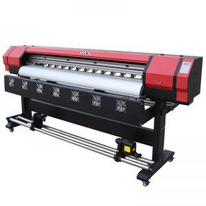 6 stôp Tlačiareň WER-ES1901 DX5 / DX7 hlavová eko rozpúšťadlová tlačiareň V dodávateľovi Guangzhou