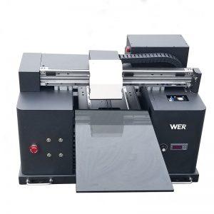 A4 veľkosti LY A42 digitálny automatický telefónný prípad UV led plochá tlačiareň UV plochá tlačiareň so 6 farebnou tlačou WER-E1080UV
