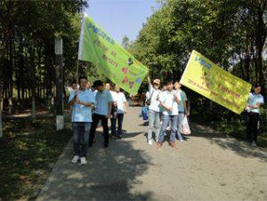 Aktivity v parku Gucun, jeseň 2014