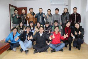 Pracovníci B2B v sídle spoločnosti, 2015