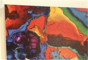Výber vzorky WER-E2000UV z plátna