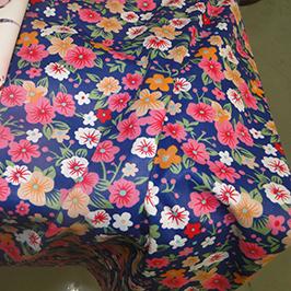 Digitálna textilná tlačová vzorka 1 digitálnou textilnou tlačiarňou WER-EP7880T