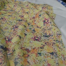 Digitálna vzorka tlače textilu 3 podľa digitálnej textilnej tlačiarne A1 WER-EP6090T