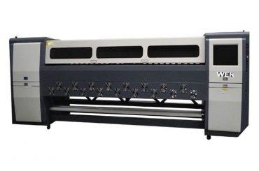 Dobrá kvalita K3404I / K3408I Solvent Printer 3.4 m atramentová atramentová tlačiareň