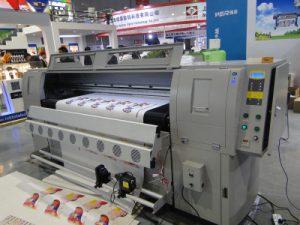 Kožený stroj na tlač