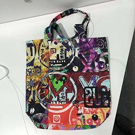 Vzor tlače netkanej tašky podľa digitálnej textilnej tlačiarne A1 WER-EP6090T
