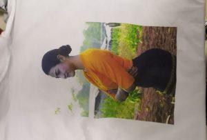 T vzorky tlače pre barmský klient z tlačiarne WER-EP6090T