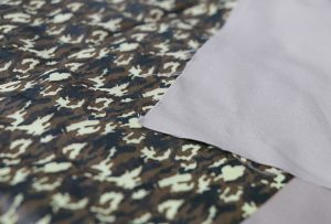 Textilná tlačová vzorka 1 digitálnym tlačovým strojom WER-EP7880T