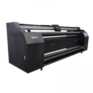 WER-E1802T 1,8 m priamo na textilnú tlačiareň s 2 * sublimačnou tlačiarňou DX5