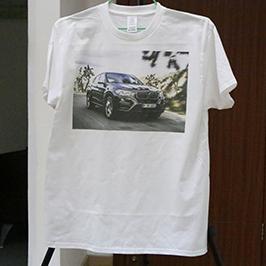 Biela vzorka pre tlač tričiek trikou tlačiarňou A3 WER-E2000T 2