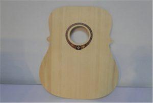 Vzorka na gitaru na drevo z tlačiarne veľkosti A2 WER-DD4290UV