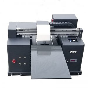 lacná cena A3 veľkosť DTG digitálne ploché tričko priamo na odevnú tlačiareň WER-E1080T